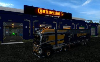 Mercedes set in Continental colors v1.0