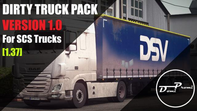 Paintable Dirty Truck Pack v1.0