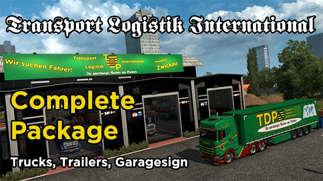 Transport Logistik International Complete Package v1.0
