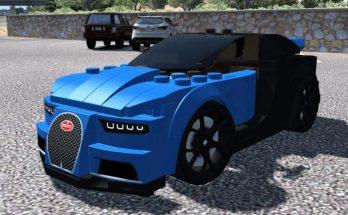 BUGATTI CHIRON LEGO CAR V1.0 1.37.X