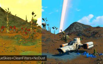 Blue Skies - Clean Filters - No Dust