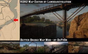 Butter Bridge - Cross the San Luis River into Mexico