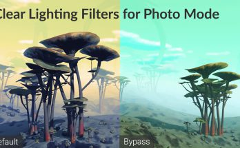 Clear Lighting Filters for Photo Mode