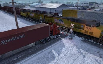 Improved Trains compatibility addon for the Real traffic Density by Cip v1.37.c