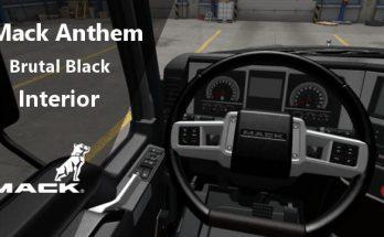 MACK ANTHEM BRUTAL BLACK INTERIOR V1.0