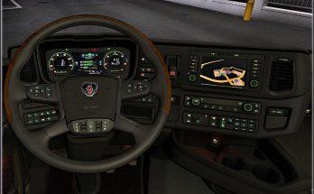 Dashboard light Scania S&R Pack v1.0