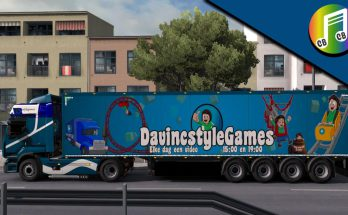 DavincstyleGames Truck and Trailer v1.0
