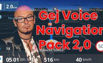 Gej Voice Navigation Pack v2.0
