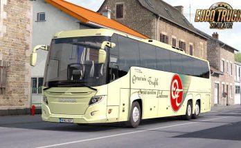 New Scania Touring Bus + Interior v1.6 1.37.x