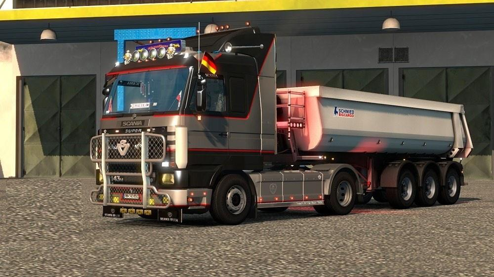 Scania 143 sound addon for FMOD 1.37