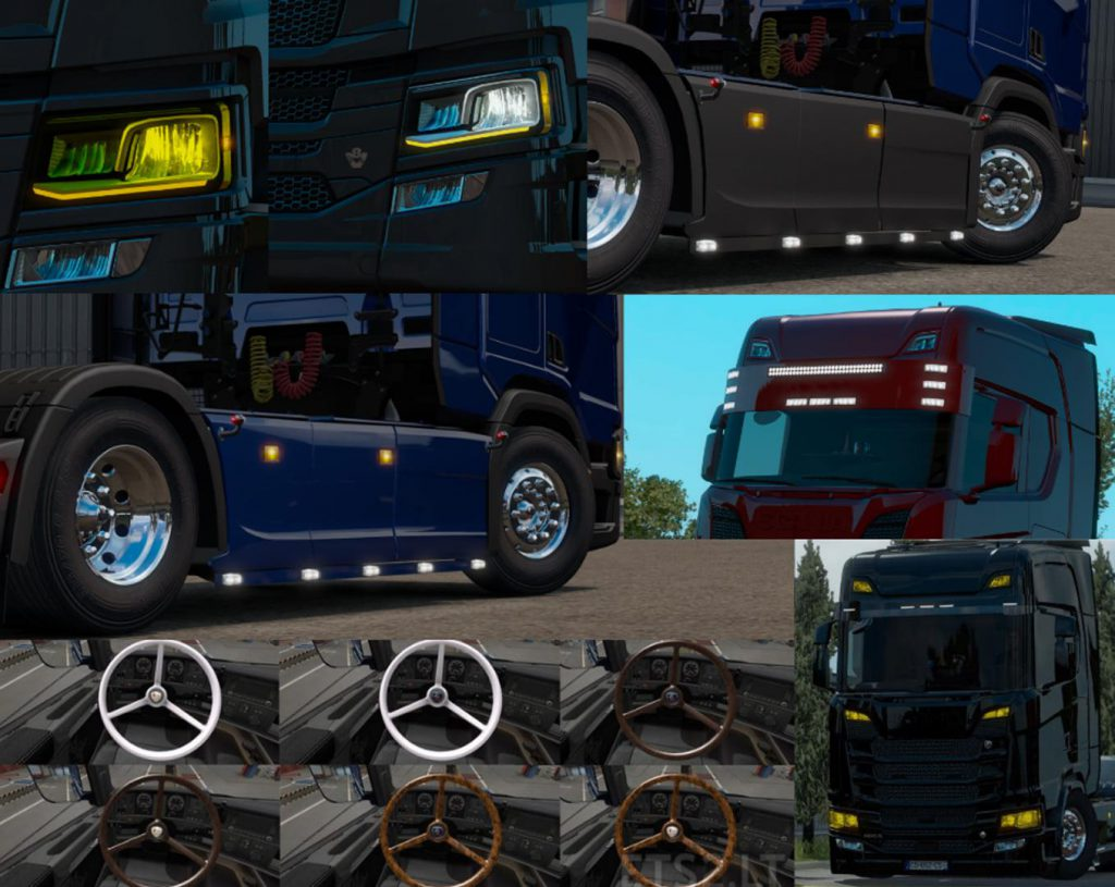 Scania Next Gen Accessories Pack v1.0 1.37.x