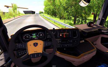 Scania NextGen R&S CremeBeige Interior 1.37