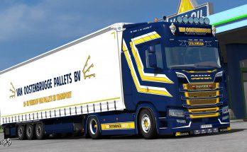 Scania S NextGen Van Oostenbrugge Combo Skin Pack 1.37.x