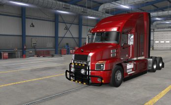 BULLBARS FOR SCS MACK ANTHEM V1.0
