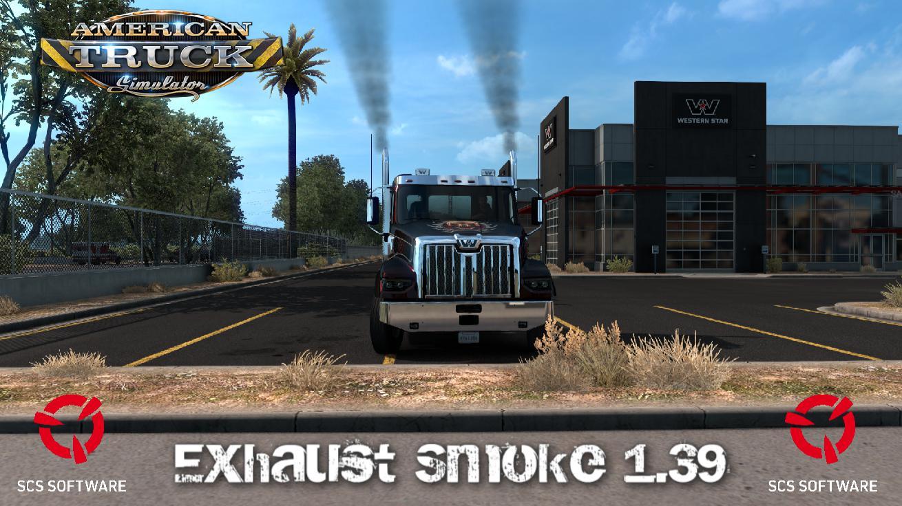EXHAUST SMOKE FOR ATS 1.39