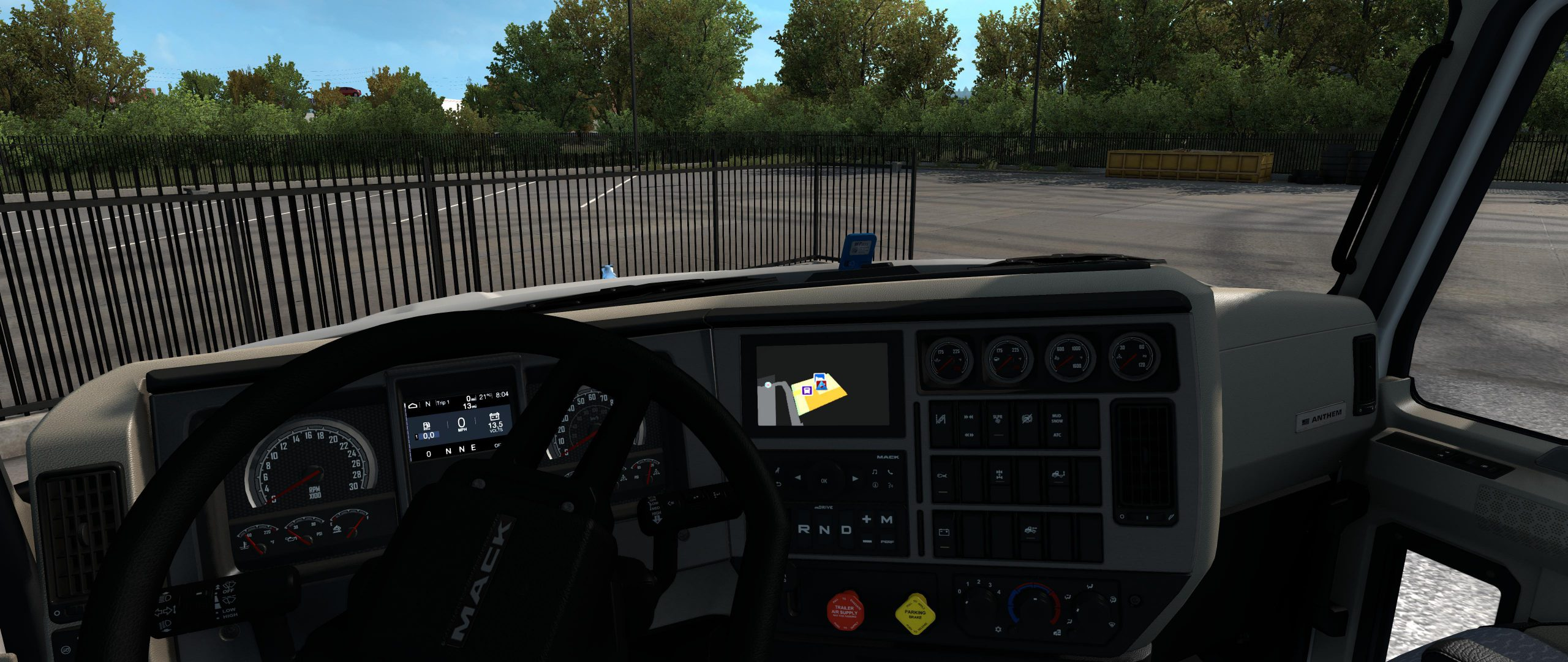 MACK ANTHEM DAYCAB GPS 1.38