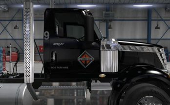 MATCHBOX skin for International Lonestar daycab + 53 feet trailer