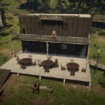 Pleasance town Saloon by jrminate