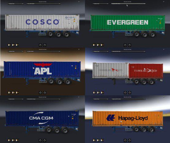 Cargo Pack for Real Shipping Container Companies 1.38