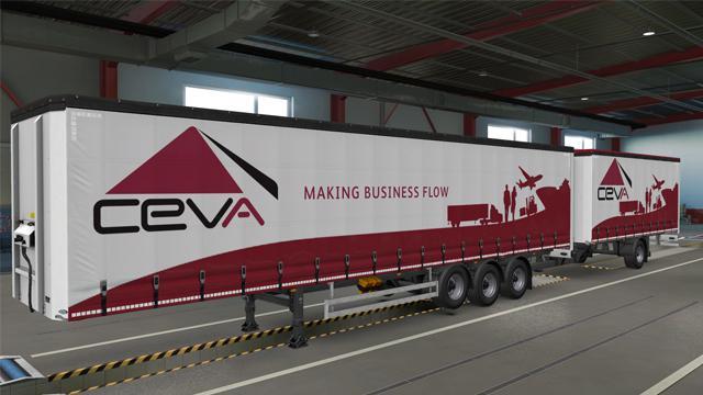 Ceva Logistics skin v1.0