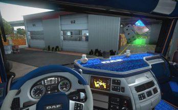 DAF Blue Pluche Interior v1.0