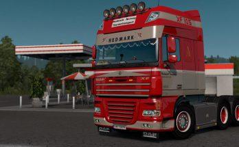 Daf XF Hedmark Transport Skin v1.0