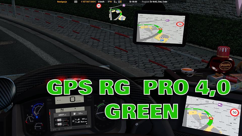 GPS RG PRO Green v4.0