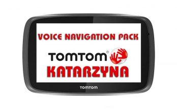 Katarzyna Tom Tom Voice Navigation Pack v1.0