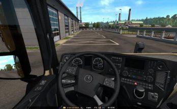 Mercedes Actros 2014 Interior v1.0