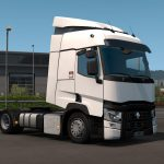 Realistic exhaust cover for Renault Range 1.38