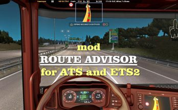 Route Advisor for ATS ETS2 1.38