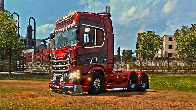 Scania 730 Multiplayer by canario74 v1.0