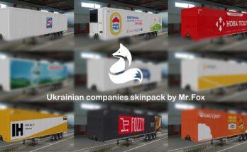 Skinpack of Ukrainian Companies v1.0 by Mr.Fox