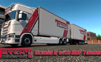 Toten Transport Scania S Tandem v1.0