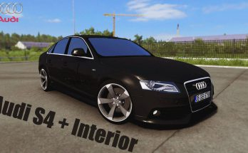 AUDI S4 + INTERIOR V2.0 1.38.X