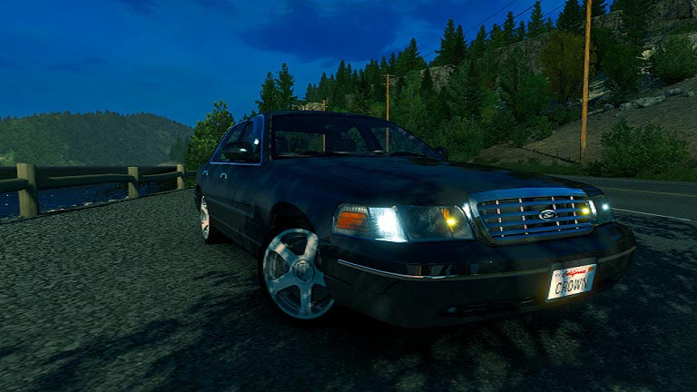 Ford Crown Victoria 2012 1.38
