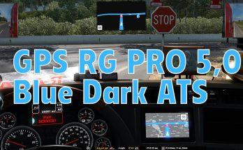 GPS RG PRO BLUE DARK ATS V5.0