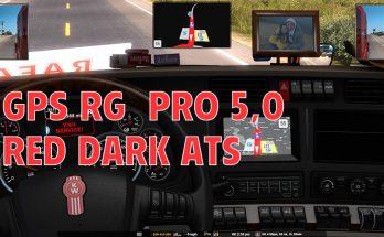 GPS RG PRO RED DARK ATS v5.0