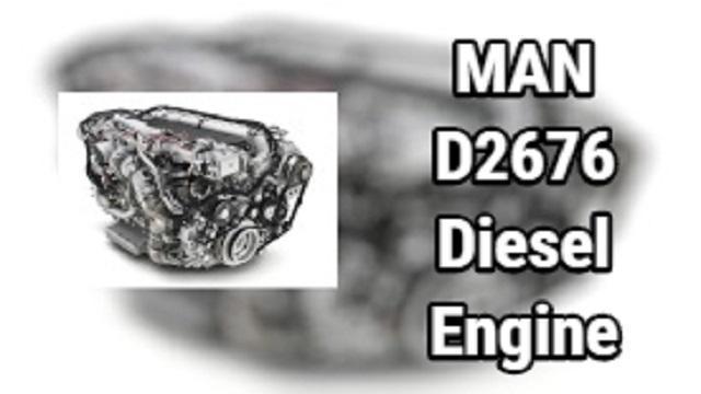 MAN D2676 DIESEL ENGINE V1.0 1.38.X