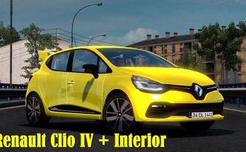 RENAULT CLIO IV + INTERIOR V1.3