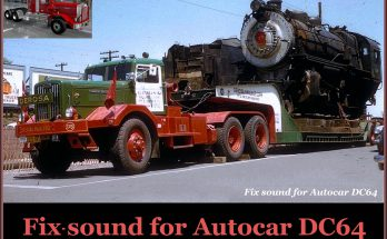 SOUND FIX FOR AUTOCAR DC64 V1.0