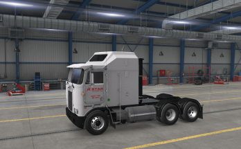STAR TRANSPORT, INC. SKIN FOR OVERFLOATER'S KENWORTH K100E 1.38