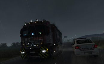 Mercedes Actros Lights v1.0