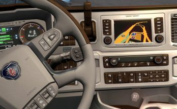 New Scania Lux Interior v1.0 1.38.x