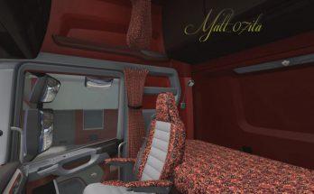 Scania NextGen Beige & Red pluche Interior v1.0 1.38.x
