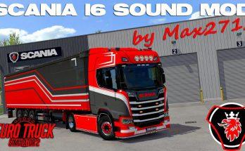 SCANIA NextGen I6 sound mod v2.0 1.38