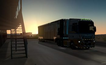 MAN TGX IN ATS 1.38