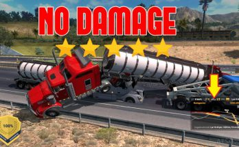 NO DAMAGE COLLISION MOD FOR ATS 1.38