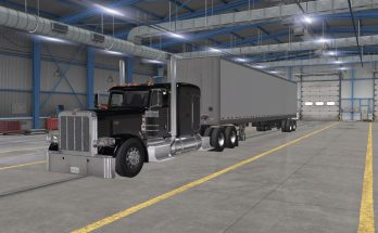 PETERBILT 389 LOWERED CHASSIS V1.0