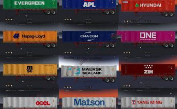 SHIPPING CONTAINER CARGO PACK + AI TRAFFIC V2.2